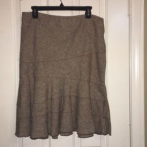 DKNY Jeans 6P Brown skirt